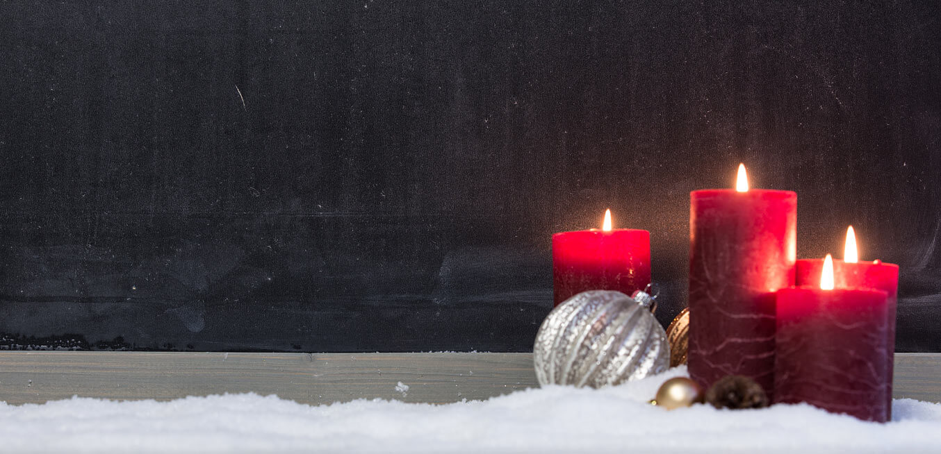 Candles and Snow