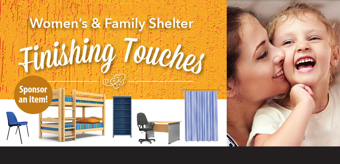 Womens & Family Shelter Finishing Touches