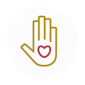 serving hand icon